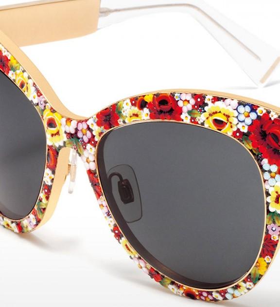 Gafas de cristal de Murano de Dolce & Gabanna