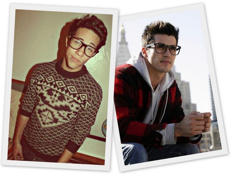 Gafas nerds ellos
