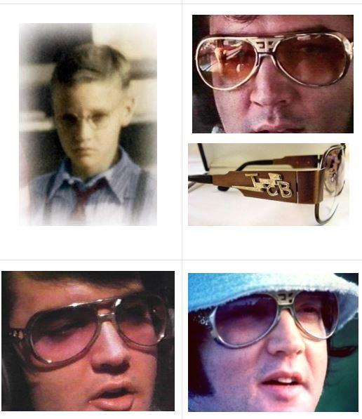 gafas de sol Elvis Presley