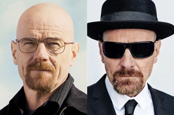Adictos a las gafas. Breaking bad.