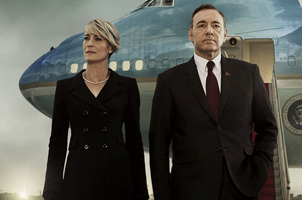 Adictos a las gafas. House of cards.