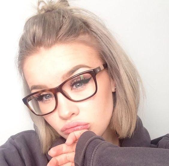 cb26f14039 Cómo puedo peinarme si utilizo gafas graduadas? - Blog a primera vista