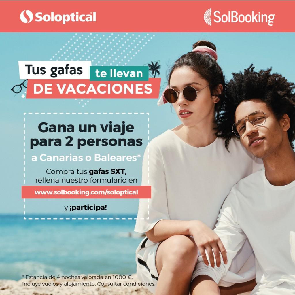 promoción Soloptical y Solbooking